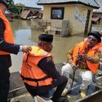 Osibanjo Visit the Anambra West over flood situation