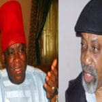 Senator Uche Ekwunife announces plans to take over from Senator Victor Umeh , as Ngige buys form for her