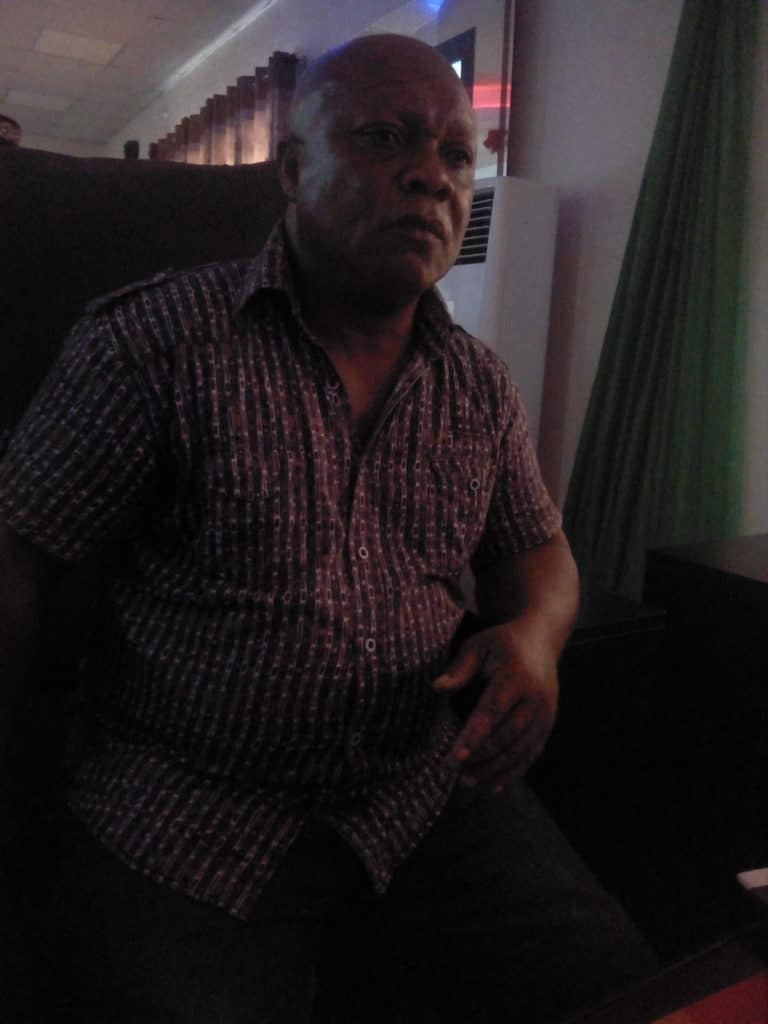 Coca Cola  PG Community leader Mr Uche Nwude