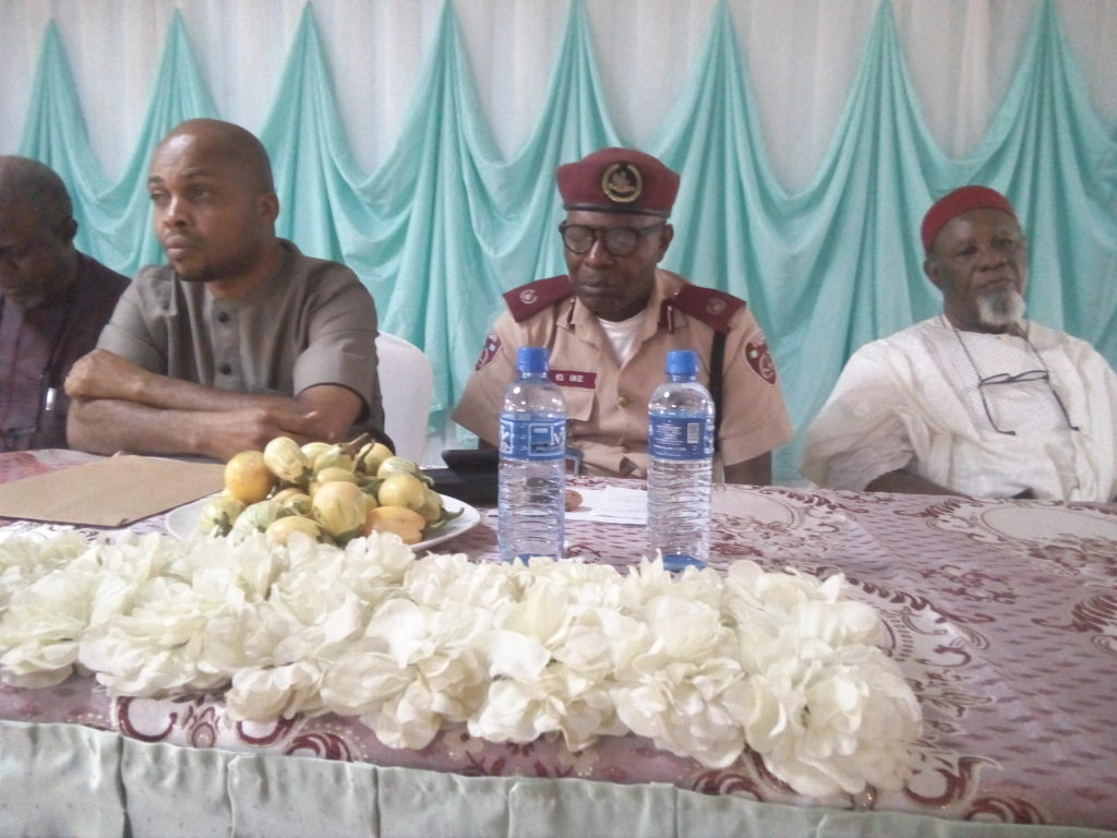 INEC Dr Onyizugbe, FRSC official and Igwe Anugwu