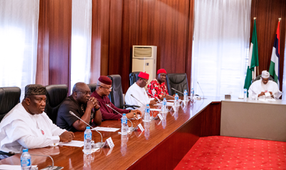 Buhari with South East Governors
