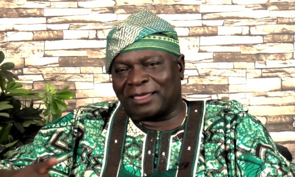 Olagunsoye Oyinlola, chairman of the Coalition of United Political Parties (CUPP)