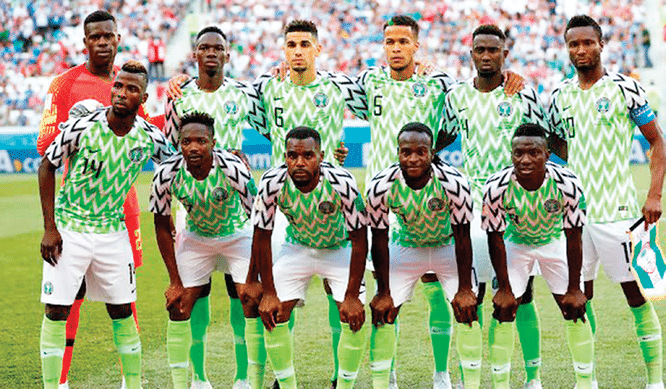 AFCON 2019 Ruthless Eagles