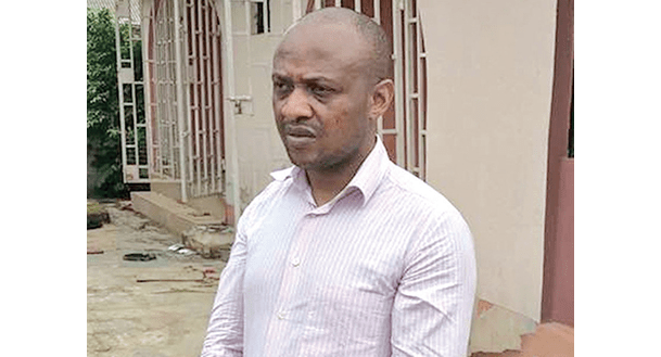 The alleged kidnap kingpin, Evans