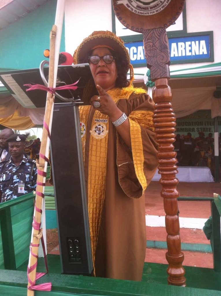 The Provost, Dr. Tessy Okoli