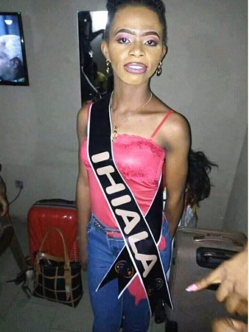 Miss Ihiala contesting for Miss Anambra