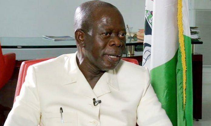 APC National Chairman, Adams Oshiomhole, Senate
