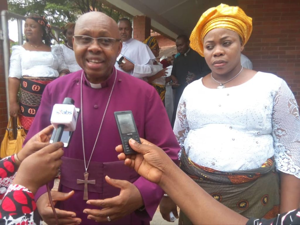 Bishop Ibezim and Wife