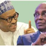 Atiku has never won any political contest with me, Buhari tells tribunal