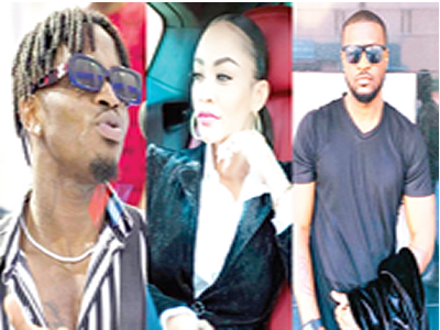 Diamond Platnumz, Zari and peter Okoye