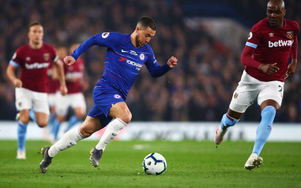Hazard vs West Ham