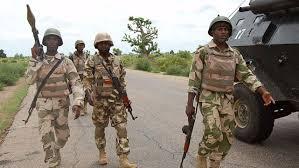 Nigeria Troops