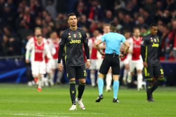 Cristiano Ronaldo Scored for Juventus in draw versus Ajax