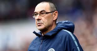 Chelsea coach, Maurizio Sarri
