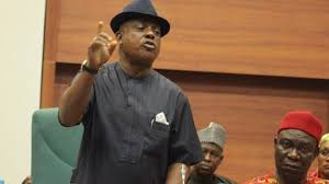 The National Chairman of the PDP, Uche Secondus