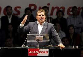 Former Peru president, Alan Garcia