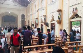 At least eight blasts were reported in Sri Lanka