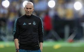 Real madrid coach, Zinedine Zidane