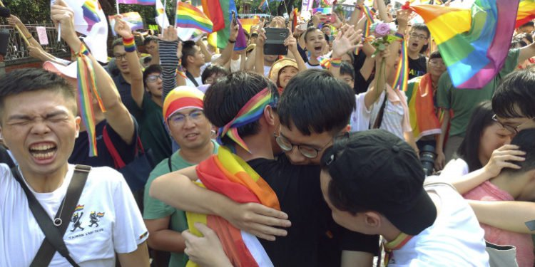 Same sex marriage legalized in Taiwan