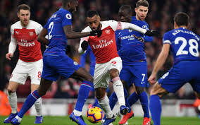 Encounter between Arsenal and chelsea