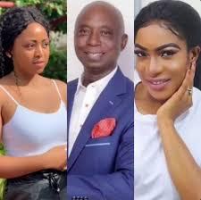 Ned Nwoko, Regina Daniels and Chike Ike