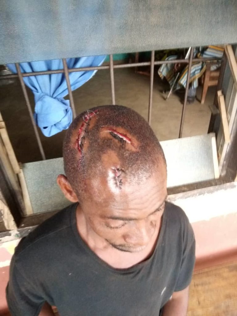 The hoodlums attacked the catechist and gardener of the church