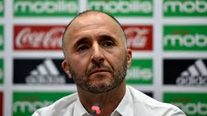 Algeria head coach,  Djamel Belmadi