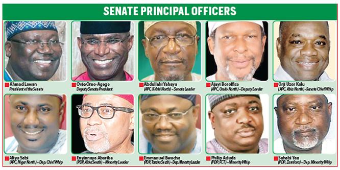 Senate Principal officers