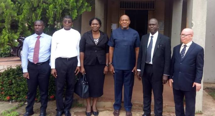 Cross section of Law Alumni committee led Dean and MD ABS