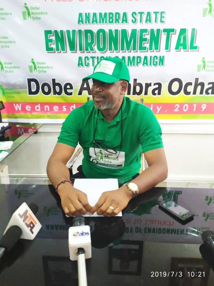 Commissioner for Environment,  Mr. Obi Nwankwo
