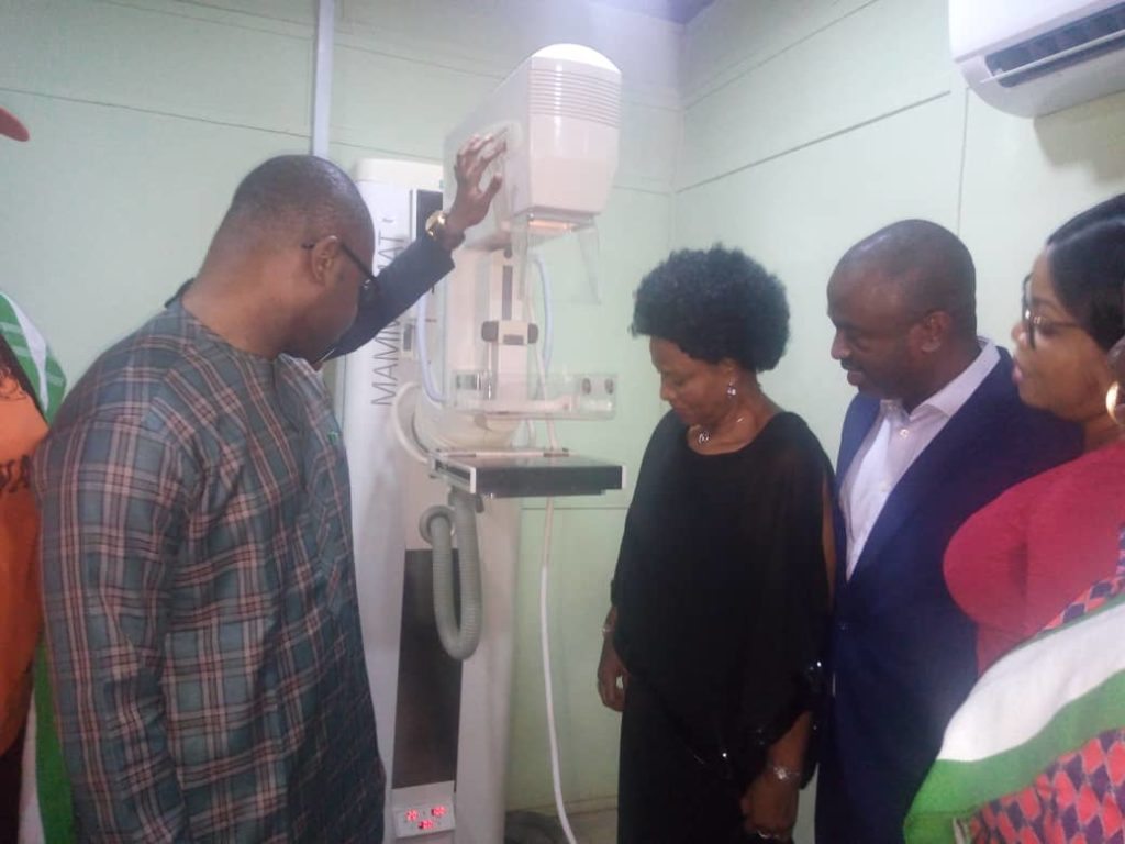 Medical Experts inspecting the cancer detecting machine