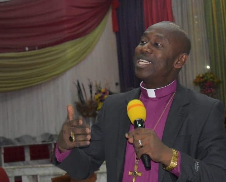 The Anglican Bishop of Ogbaru Diocese, Right Reverend Prosper Amah