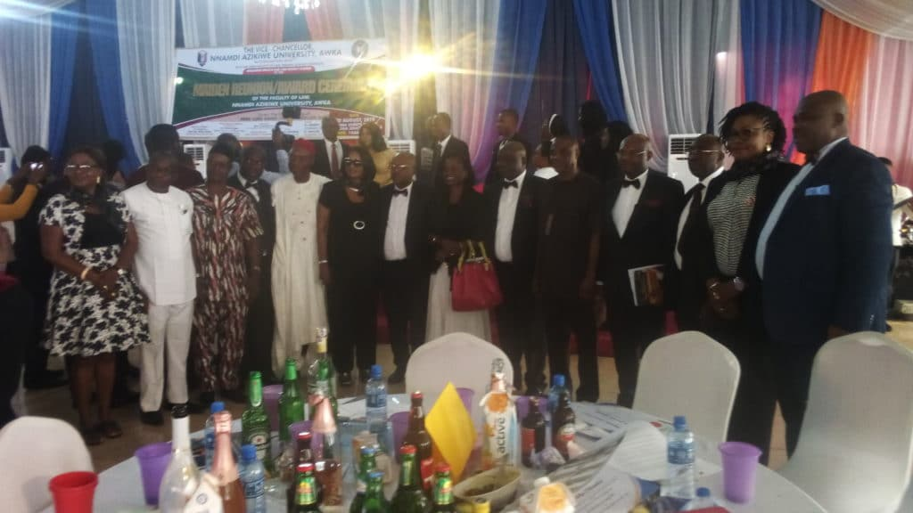 GROUP PHOTO: some of the participants at  at the maiden reunion of the Alumni of Nnamdi Azikiwe University Law Faculty/ Anambra State University of Technology (ASUTECH) at the OMA Event Centre