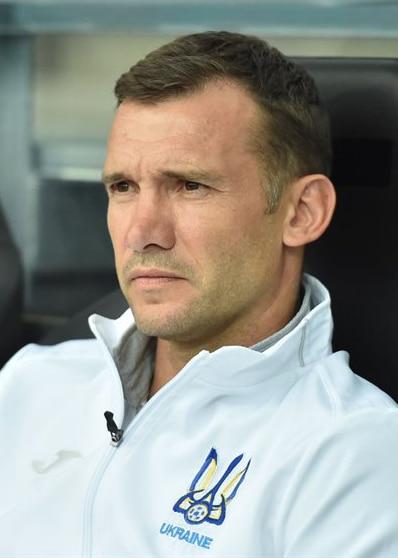 Ukraine manager, Andriy Shevchenko