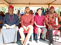 Dr. Emeka Okeke (2nd left) with Dignitaries