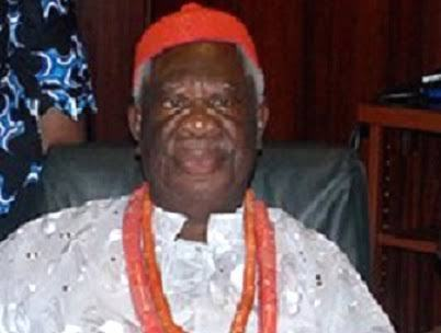 Prof. Chukuka Okonjo, Obi of Ogwashi Ukwu