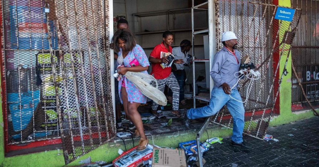 Attacks on non-nationals in South Africa