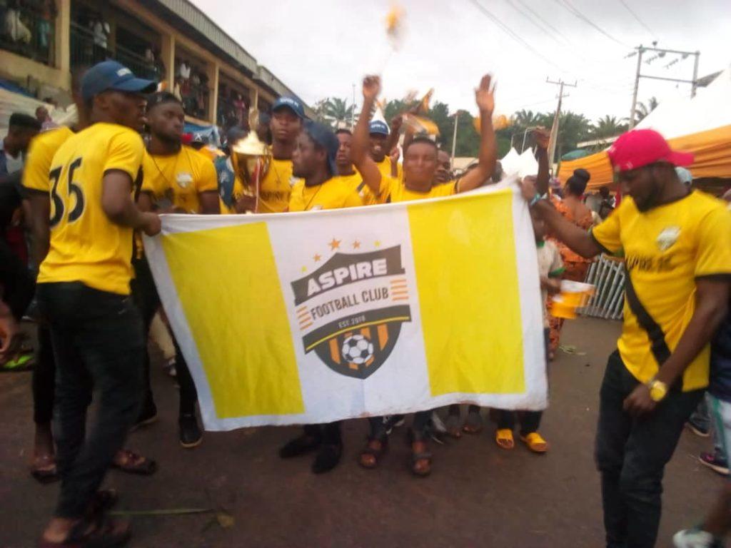 Triumphant display by the Aspire football club of Adazi-Ani
