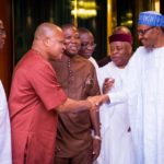 Revealed: Details of Buhari's meeting with Igbo leaders in Aso Rock