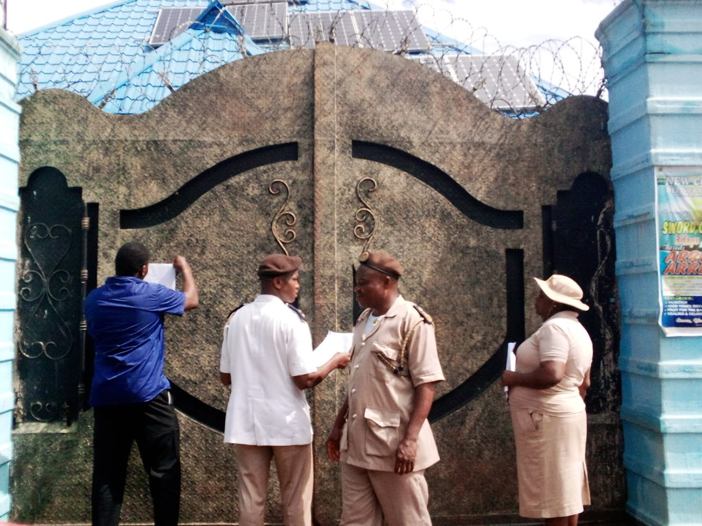 New Spring Christian was sealed up by a magistrate court