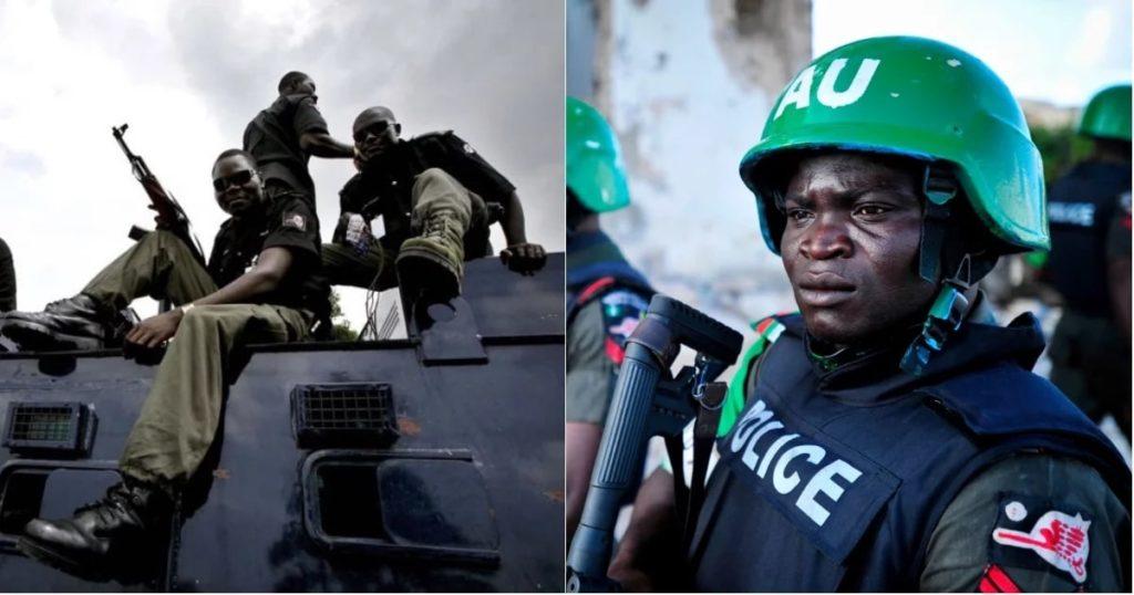 Men of Nigerian Police Force