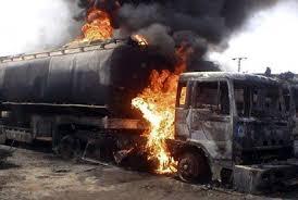 Fire outbreak in Onitsha