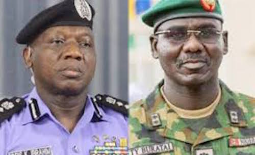 Nigerian Military, Police