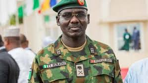 Chief of Army Staff Lieutenant-General Tukur Yusuf Buratai