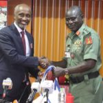 UNDP Representative Visits Chief of Army Staff