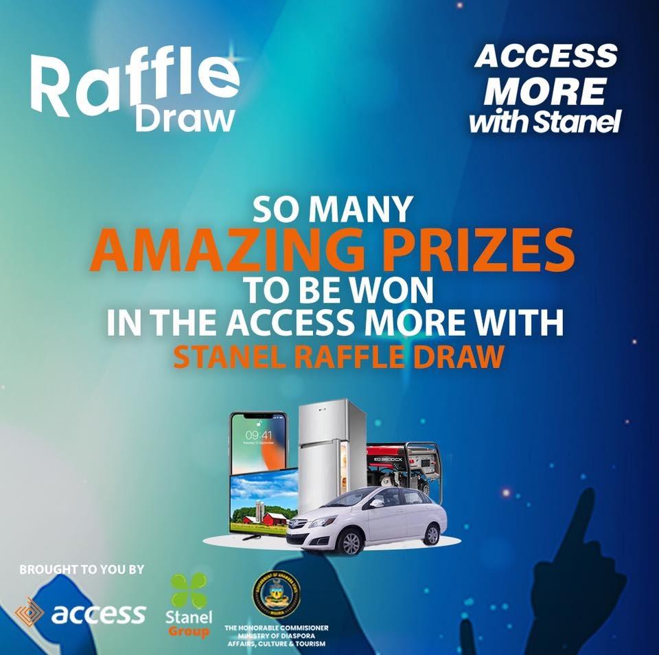 Prizes to be won in Stanel' Trade Fair and Raffle Draw on December 18, 2019