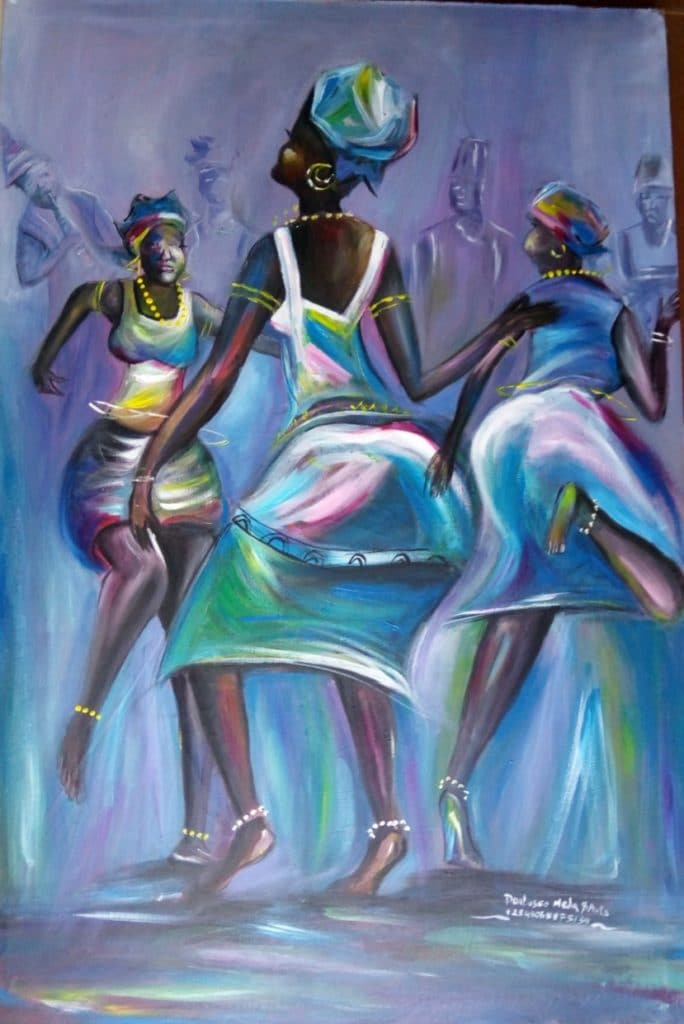 Paintings - Dancing