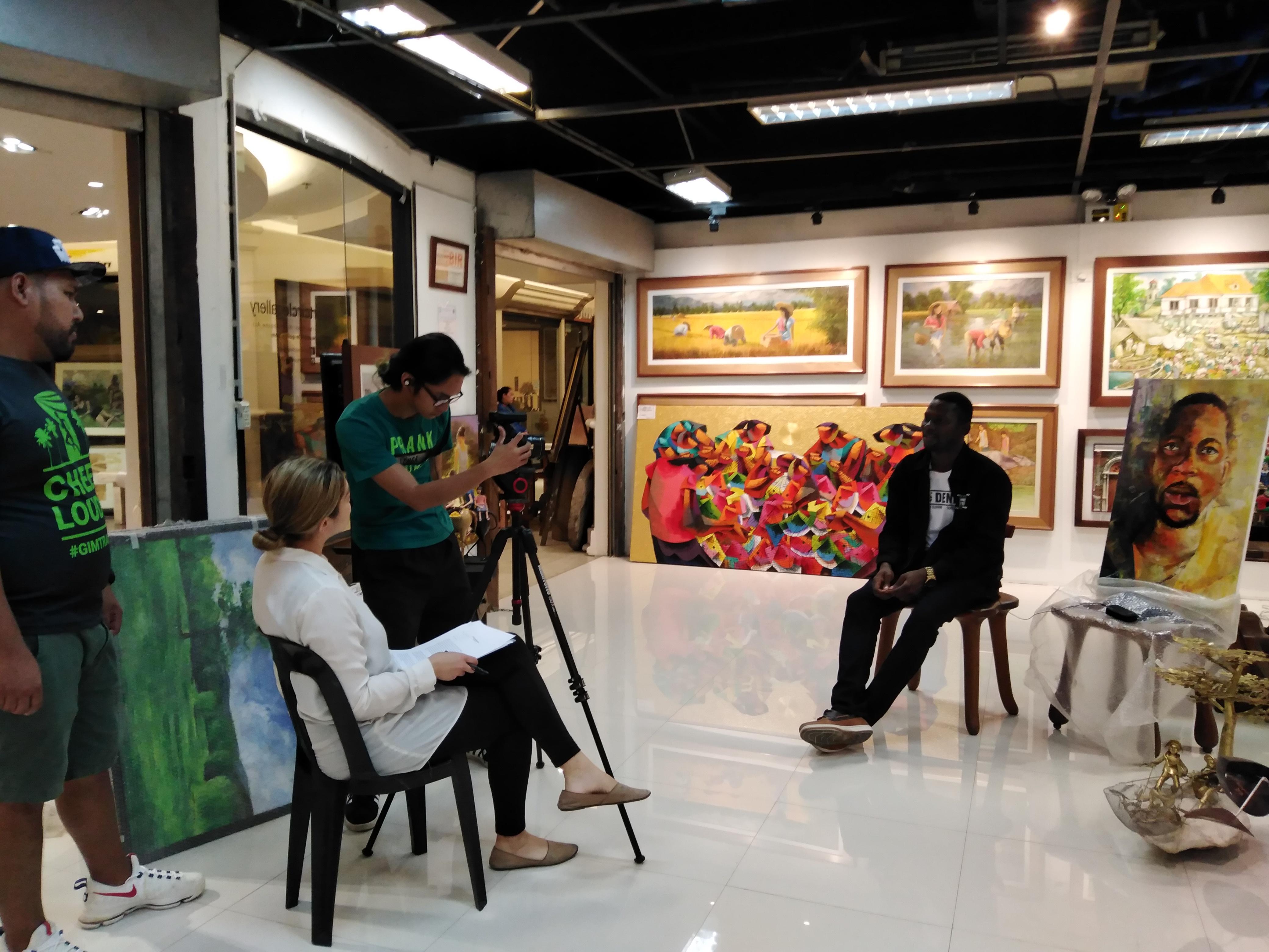 Nwobu Emeka Johnbosco featured in Filipinized